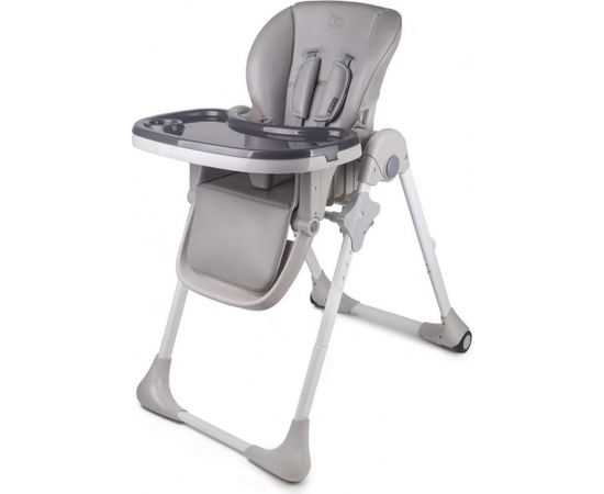 Kinder Kraft KinderKraft Yummy Grey Art.KKKYUMMGRY0000 Barošanas krēsls