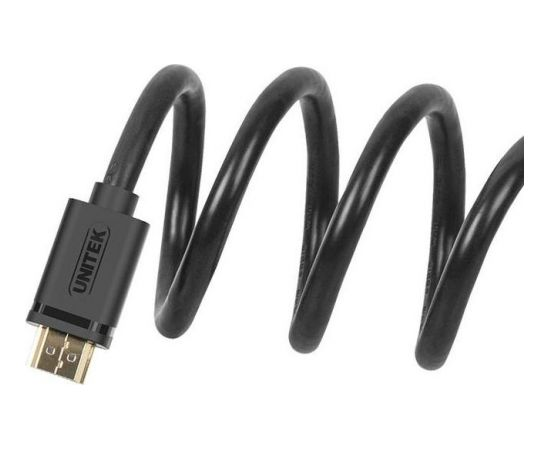 Unitek Cable HDMI v.1.4 M/M 1.5m, gold, BASIC, Y-C137M