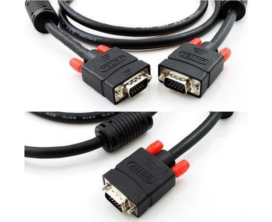 Unitek Cable VGA HD15 M/M 5m, Premium, Y-C505