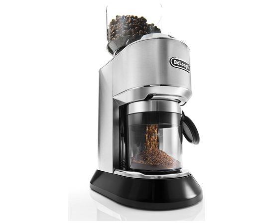 Delonghi KG521.M Coffee Grinder Inox/Black, 150W