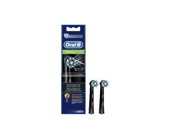 Rezerves zobu birstes uzgaļi Oral-B Cross Action, Braun / 2 gab