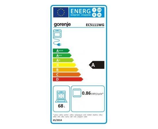Gorenje EC5111WG elektriskā plīts