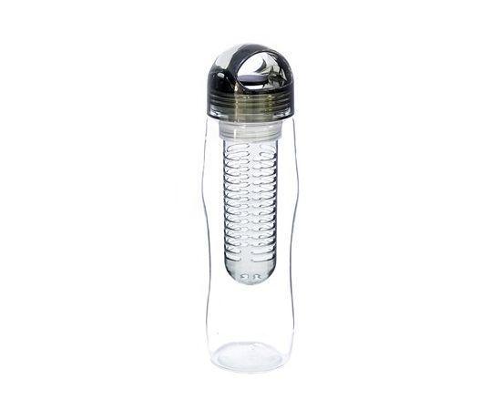 Yoko Design Detox bottle  With infuser, Black/ transparent, Capacity 0.73 L, Diameter 7.2 cm,   proof