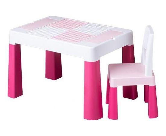 Galdiņš+krēsliņš MULTIFUN pink TegaBaby MF-001