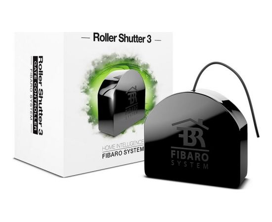 Fibaro Roller Shutter 3 Z-Wave Blinds, shades, marquise and gates control module (Ir veikalā)