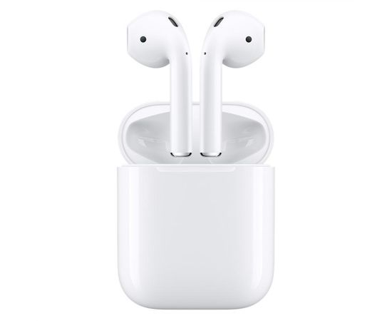 Apple MV7N2 AirPods 2 (2019) Wireless White Austiņas, With Charging Case