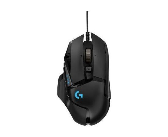 Logitech G502 HERO, wired gaming mouse, black(Ir veikalā)