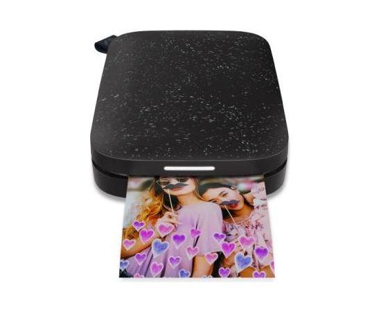 Hewlett-packard HP Sprocket 200 Printer (Black) / 1AS86A#636