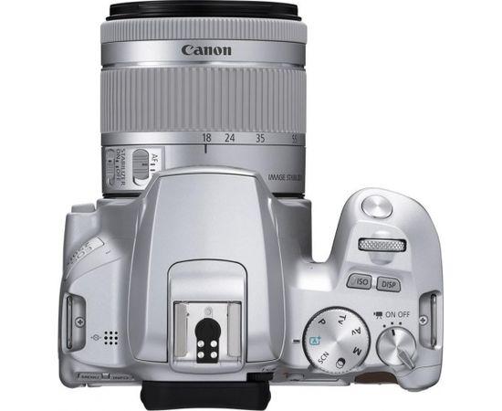 Canon EOS 250D + 18-55mm IS STM Kit, sudrabots