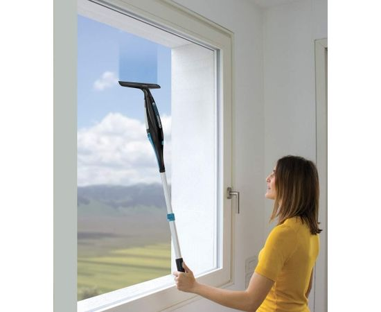 Polti Forzaspira AG220 Plus Cordless rechargable windows cleaner with telescopic handle  PBEU0115