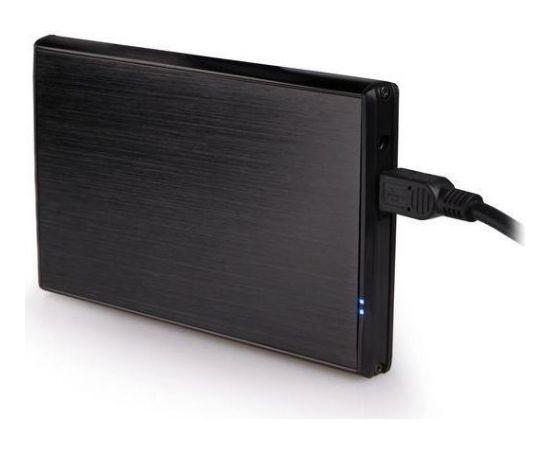 HDD/SSD enclosure Natec Rhino for 2.5'' SATA - USB2, Aluminum