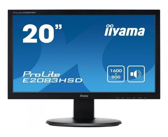 """Iiyama E2083HSD-B1 19.5"""" TN Monitors"""
