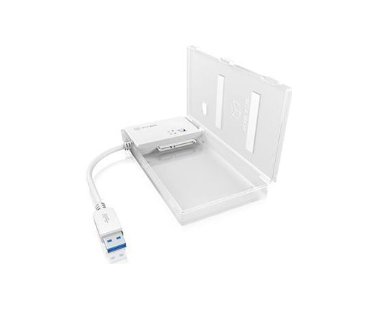 """Raidsonic IcyBox mini Docking station USB 3.0 for 2.5"""" SATA HDD/SSD, 4-in-1 reader, LED"""