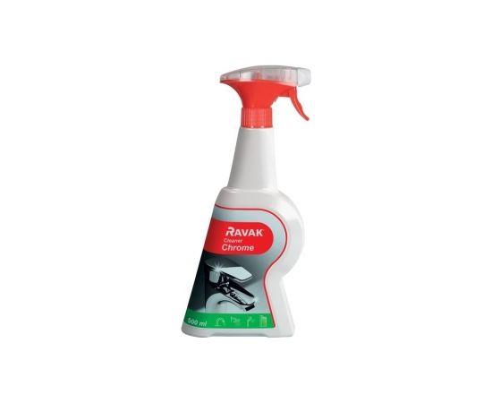 RAVAK tīrīšanas līdzeklis hromētām virsmām Cleaner Chrome (500 ml)