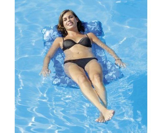 Simex Sport Hawaii Flower Water Hammock piepūšamais matracis peldēšanai (48116)