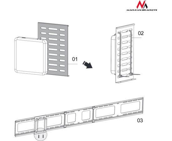 Maclean MC-802 Mini CPU holder Thin Client