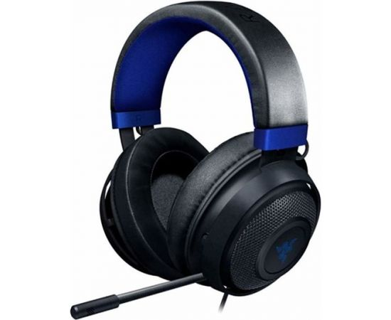 Razer Kraken Wired Gaming Headset for Console, Black/Blue