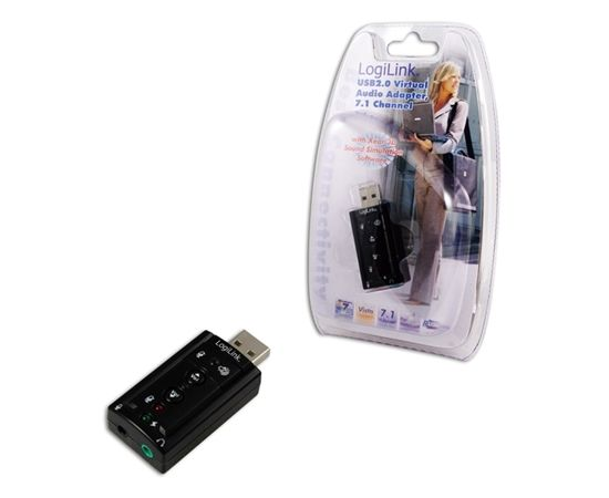 Logilink USB Audio adapter, 7.1 sound effect