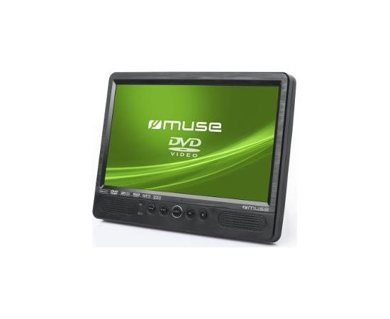 Muse DVD Portable Player M-1095CVB USB connectivity