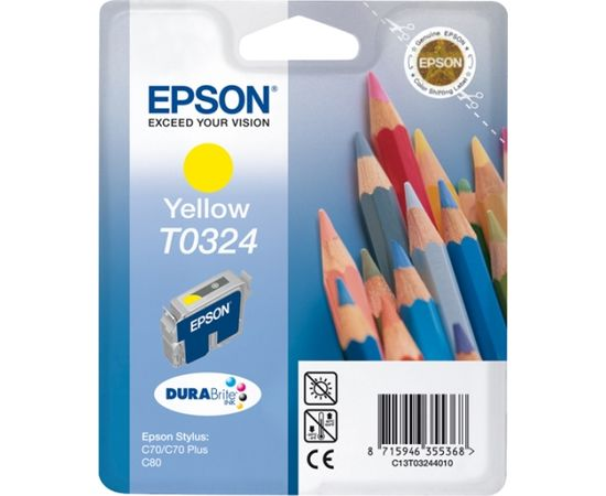 Epson Ink Yellow (C13T03244010) expired date