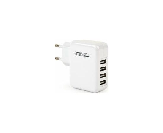 Energenie 4-port Universal USB 3.1A White