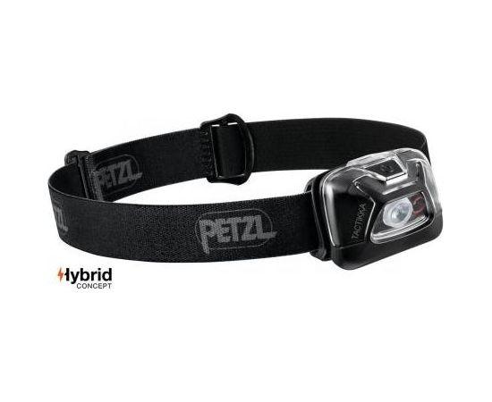 Petzl Tactikka® Hybrid / Melna