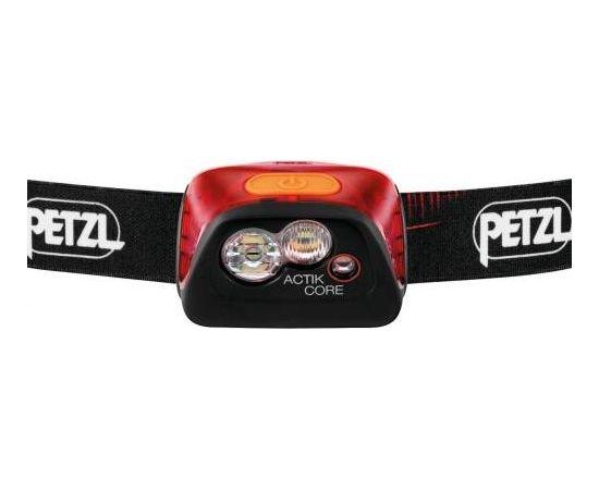 Petzl Actik® Core / Sarkana / Melna
