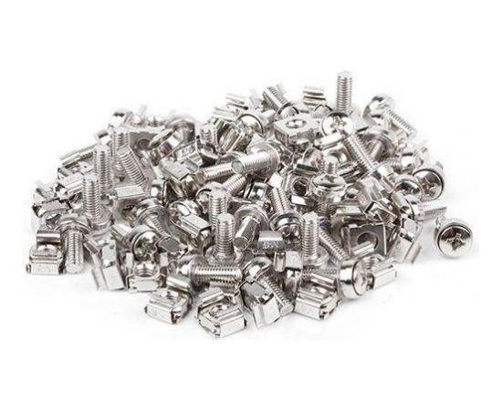 Lanberg mounting screws set 20 pcs 19'' black