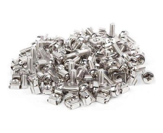 Lanberg set 50 pcs mounting screws 19'' black