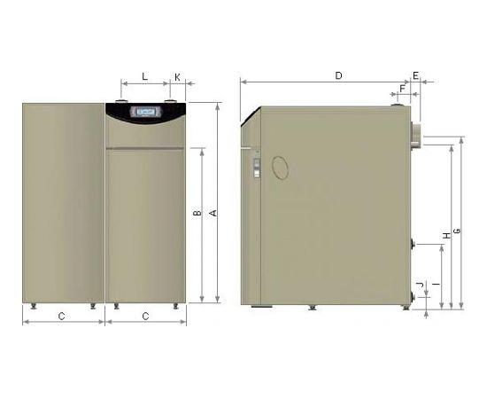 Nibe-Biawar Pellux Compact Touch 12kW apkures katls + deglis
