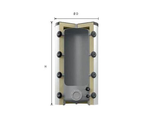 Reflex HF 1000/R_C akumulācijas tvertne