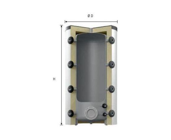 Reflex HF 500/R_C akumulācijas tvertne