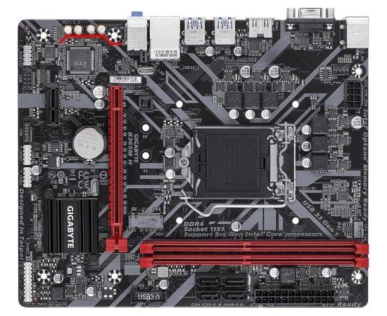Gigabyte B365M H, LGA 1151, DDR4, PCIe Gen3 x4 M.2, HDMI, D-Sub