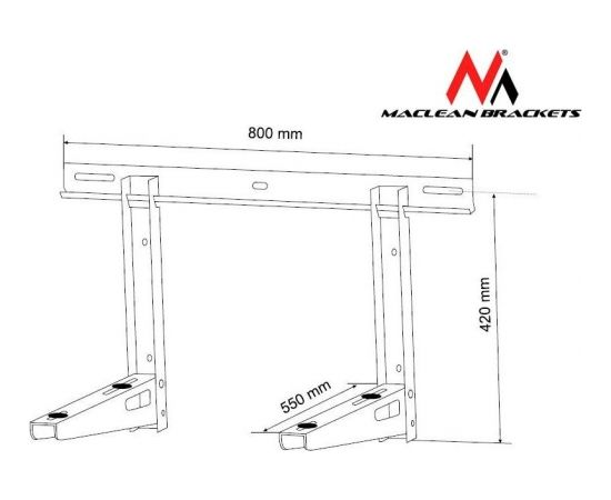 Maclean MC-623  Bracket for air conditioner max. load 200kg