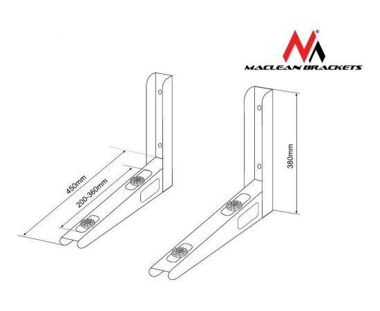 Maclean MC-621  Bracket for air conditioner max. load 100kg