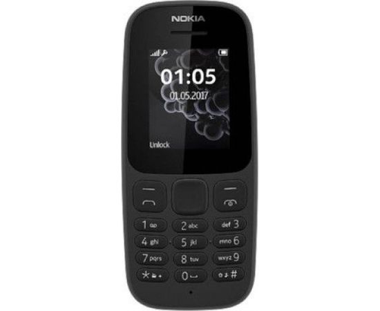 Nokia 105 (2019) Dual SIM TA-1174 Black