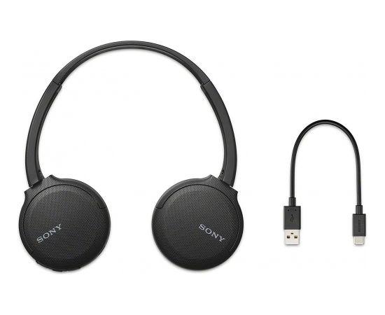 Sony WH-CH510 Black Wireless On-Ear Headphones
