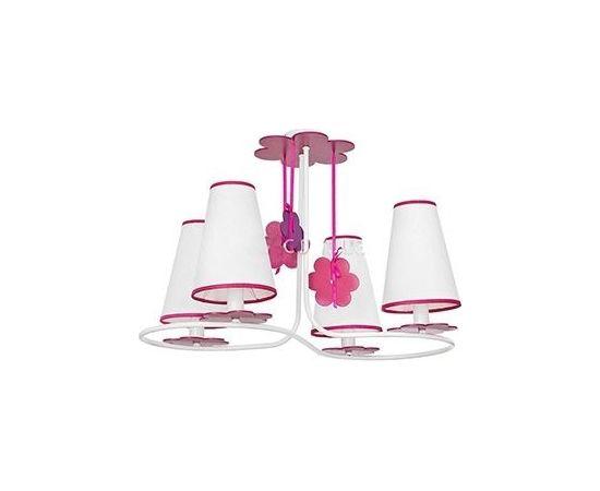Gr.l.-PRASLIN 4x40W E14 rozā