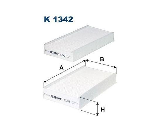 Filtron Salona filtrs K1342-2X
