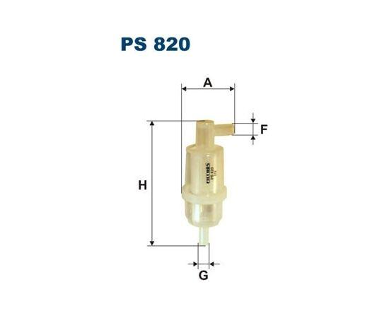 Filtron Degvielas filtrs PS820