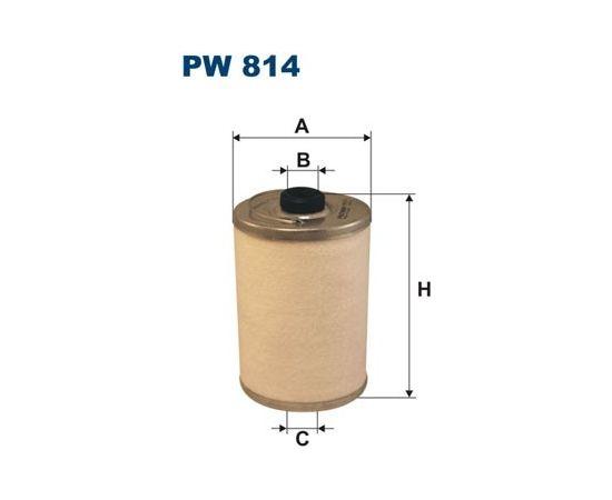 Filtron Degvielas filtrs PW814