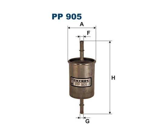 Filtron Degvielas filtrs PP905