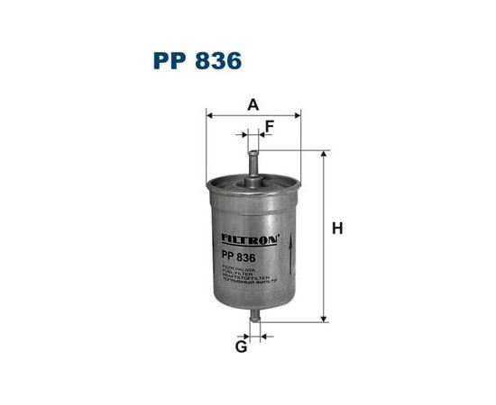Filtron Degvielas filtrs PP836