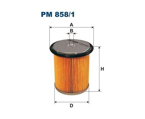 Filtron Degvielas filtrs PM858/1