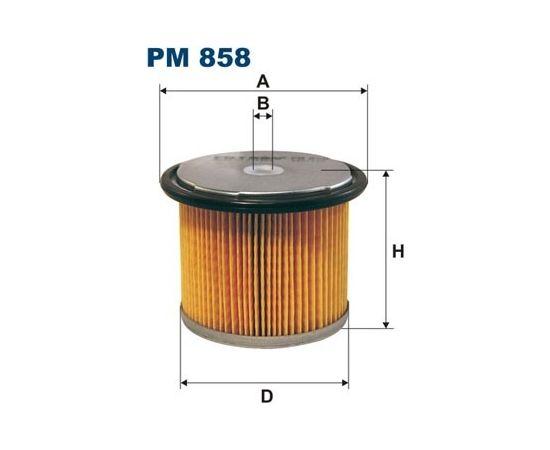 Filtron Degvielas filtrs PM858