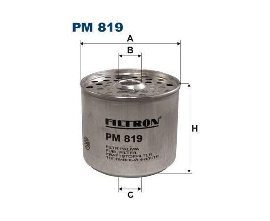Filtron Degvielas filtrs PM819
