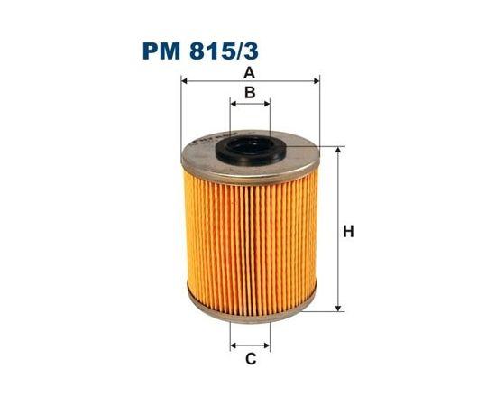 Filtron Degvielas filtrs PM815/3