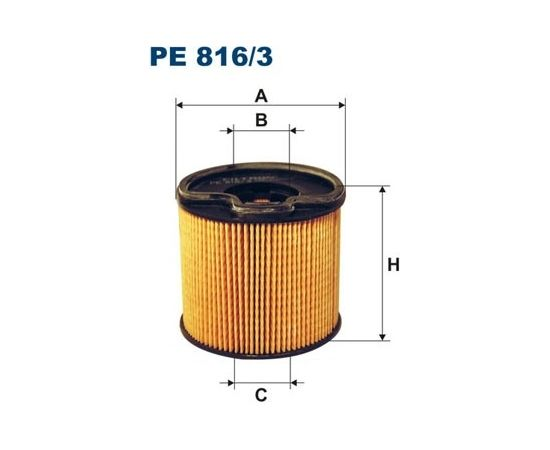 Filtron Degvielas filtrs PE816/3