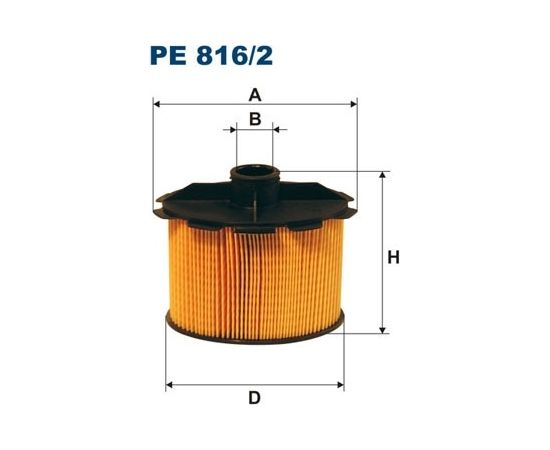 Filtron Degvielas filtrs PE816/2