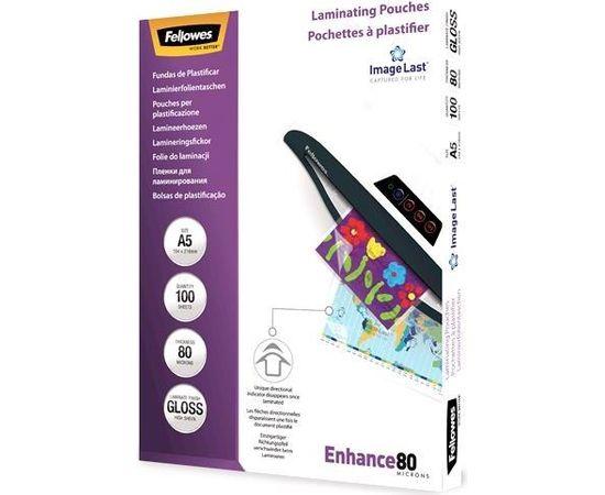 LAMINATOR POUCH IMAGELAST/A5 80 100PCS 5306002 FELLOWES